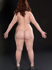 Featuring curvy figured ladies and great big butts