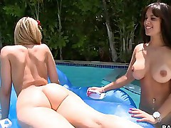 Big correct asses -  We got Alexis Texas together with Liz fucking together with sucking together with shaking there tail feathers