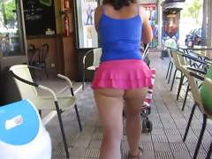 Public Nudity;Upskirts;MILFs;Voyeur;Big Butts;HD Videos;Micro Skirt;Butt Cheeks;Cheeks;In Public;Skirt;Showing;Butt