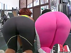 Bubble Huge ass -  we got Jessica Dawn, Julissa James running around shaking there chunky asses