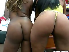 Phat exasperation booty -  Black phat asses of Tori Taylor and Carmela Mulatto