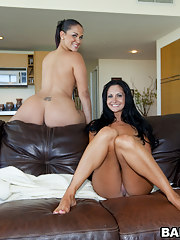 Super smashing big butt Ava Addams and Mega fat takings Miss Raquel