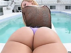 Jessie Rogers -  I think this might be be passed on sexiest ass I have seen.