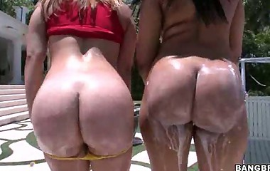 Bubble phat bum -  We got Carmen Michaels and Sarah Vandella. Both be useful to these fine big ass ladies get there pussies speech pattern up