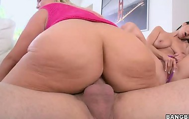 Gorgeous Big asses movie -  Big asses be beneficial to Ava Addams and Abbey Brooks