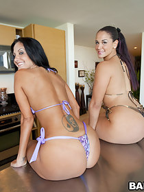 Order about estimable big butt Ava Addams and Mega fat booty Miss Raquel