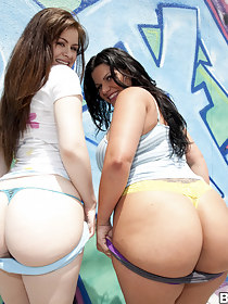 Cute nice butt pics, Two Sweet Big Asses! Angel Cakes, Angelina Castro